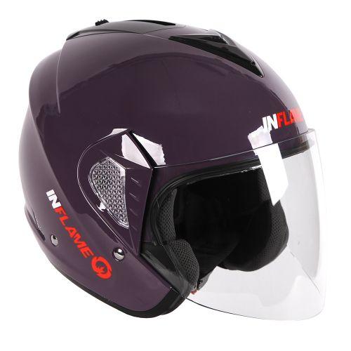 Шлем открытый INFLAME PALADIN моно, аметист